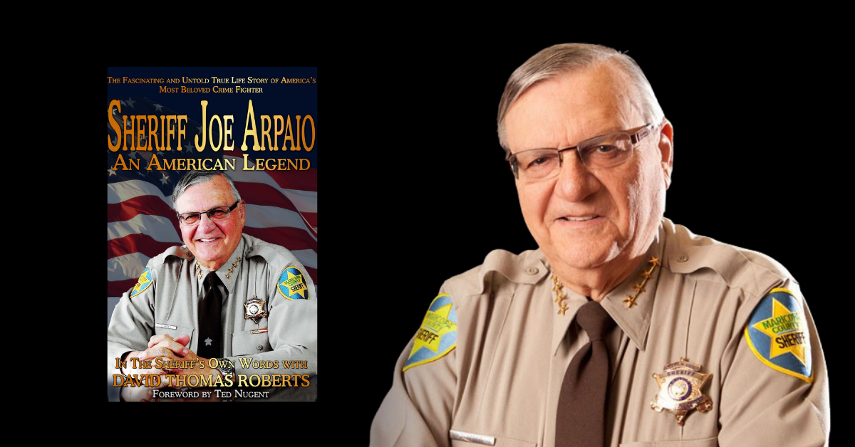 Released October 20, 2020, Sheriff Joe Arpaio: An American Legend by Joe Arpaio and David Thomas Roberts