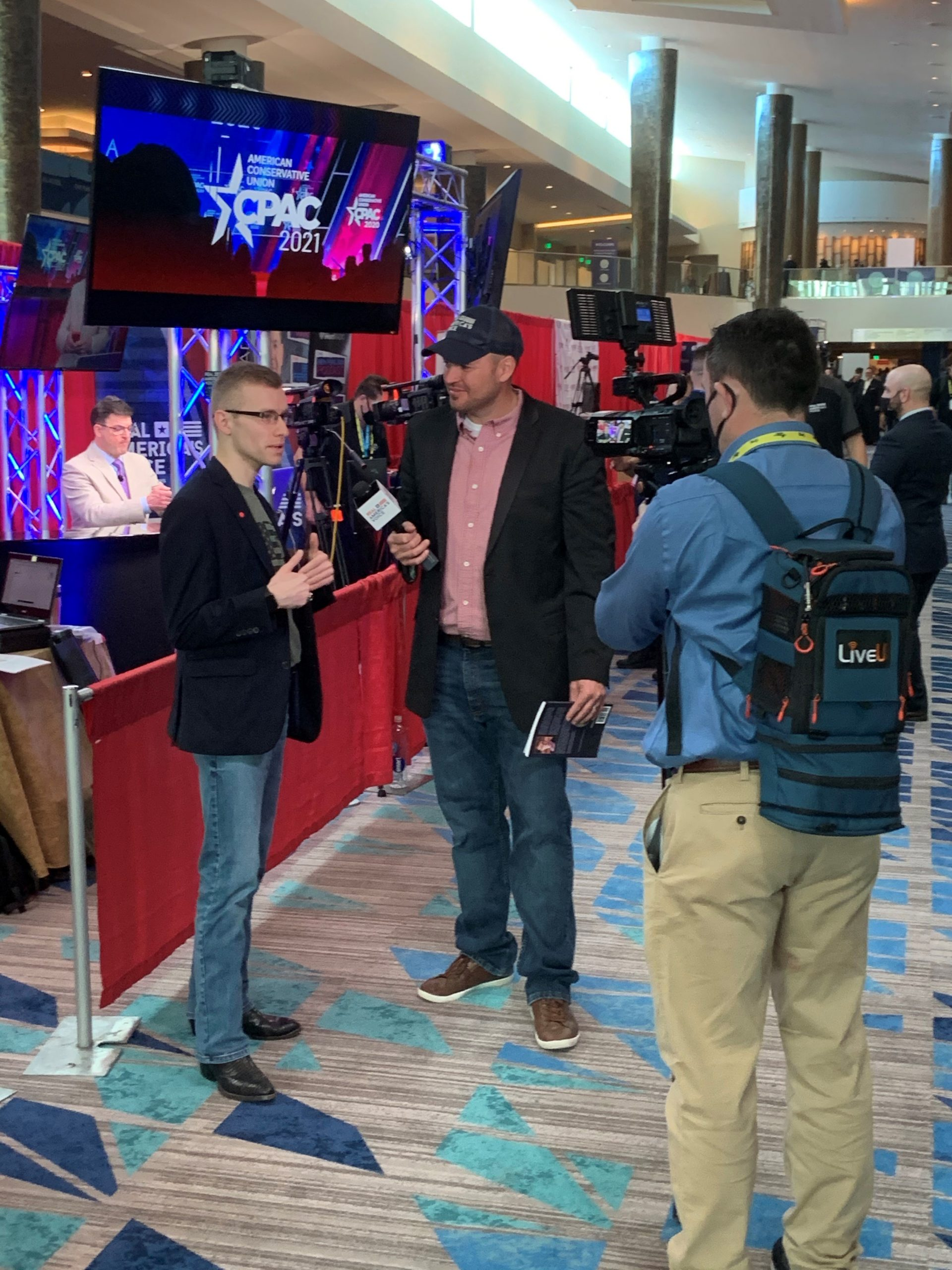 Daniel Bolan, the author of Forgotten Leaders, made an appearance at 2021 CPAC.