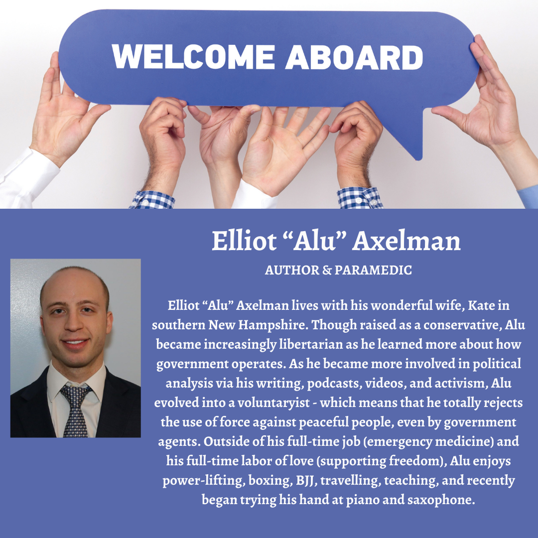 """Defiance Press welcomes Elliot """"Alu"""" Axelman to the family."""